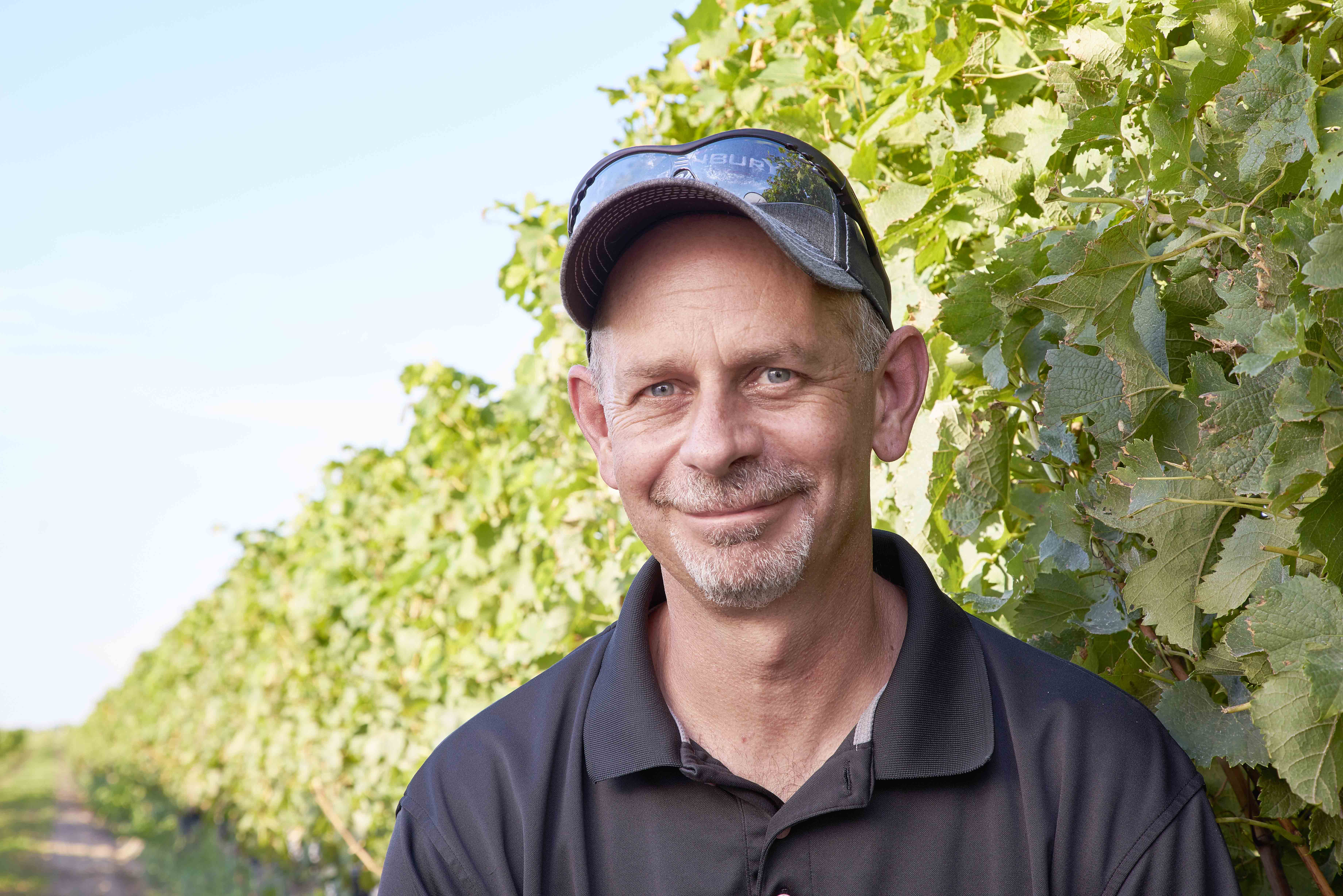 Kevin Donahue, Vineyard Manager