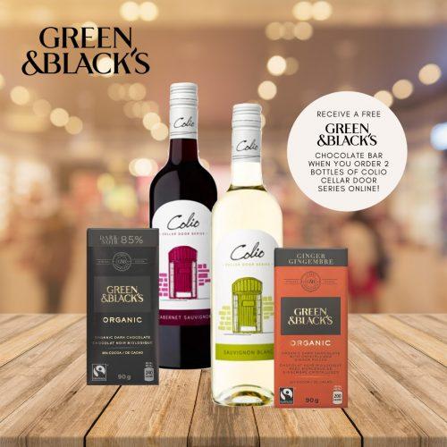 Green & Black's Wine Pairings
