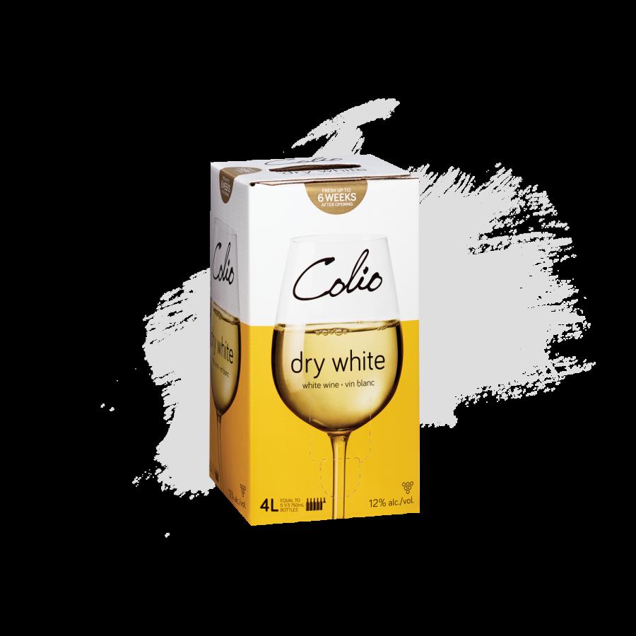 Colio 4 Litre Box Dry White