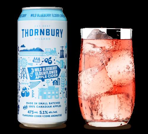 Thornbury Wild Blueberry Elderflower Apple Cider